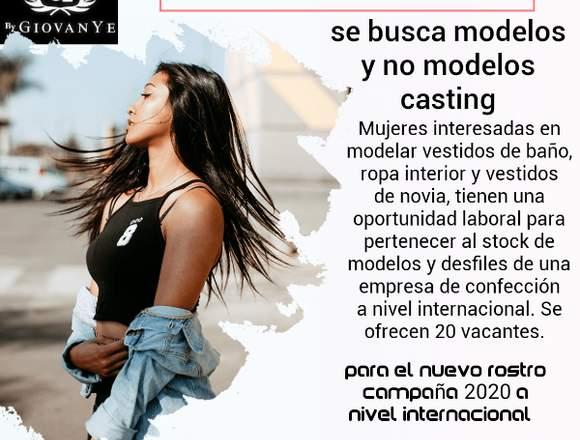 Se busca modelos y no modelos
