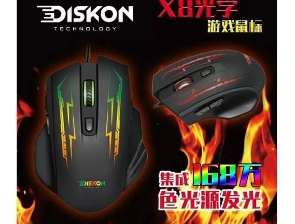 Mouse Gamer Rgb Diskon X8