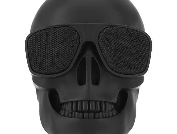Parlante Inalámbrico Bluetooth Speaker Skull