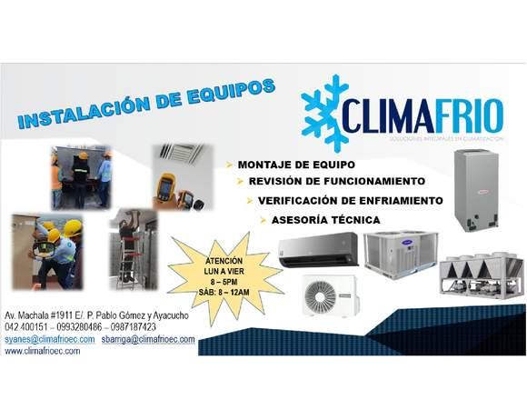 CLIMAFRIO S.A. CLIMATIZACION