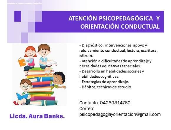 Atención Psicopedagógica y Orientación Conductual