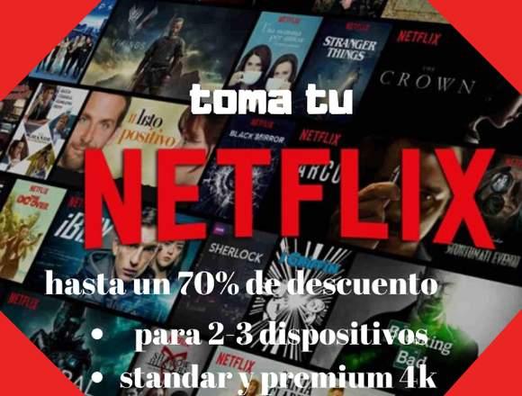 Servicio de Streaming Netflix!