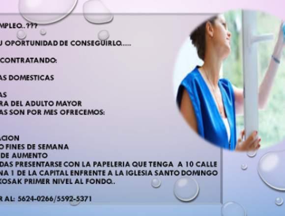 Ofertas de Empleo disponibles para Mujeres
