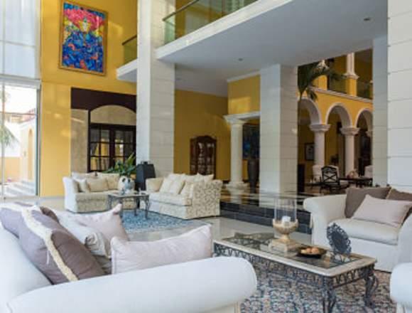 En venta hermosa mansion de lujo