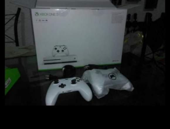 XBOX ONE S 1 TERA NUEVO DOS CONTROLES NUEVO