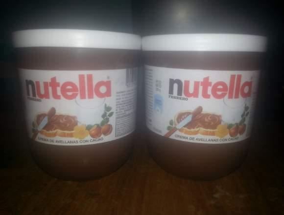 Nutella de 200g y telefonos basicos (nuevos)