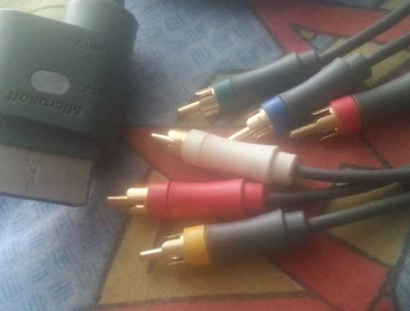 Cable de audio y video HD para xbox 360
