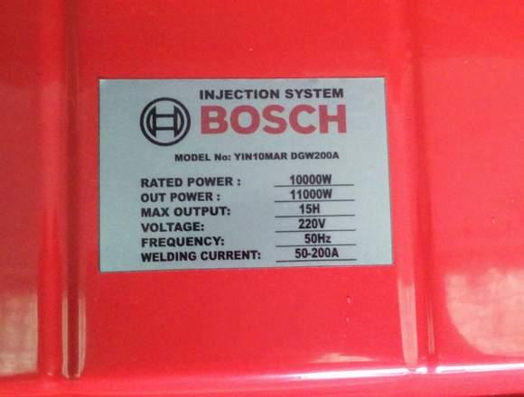 Generador Bosch Ma11KvaDiesel 11000 watts 11Kva