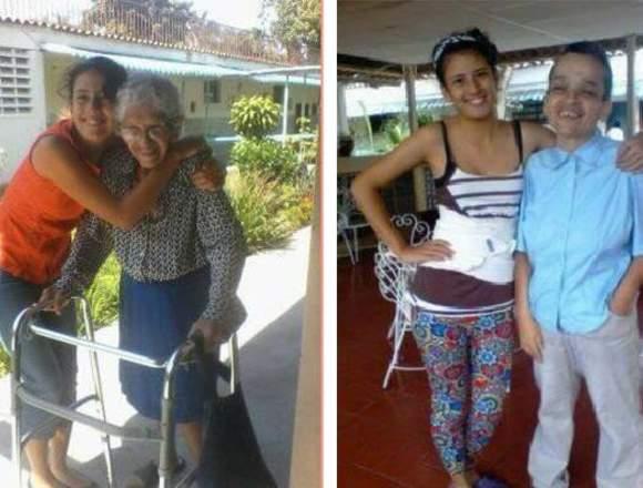 Cuidadora de Adultos Mayores, ancianos en Caracas
