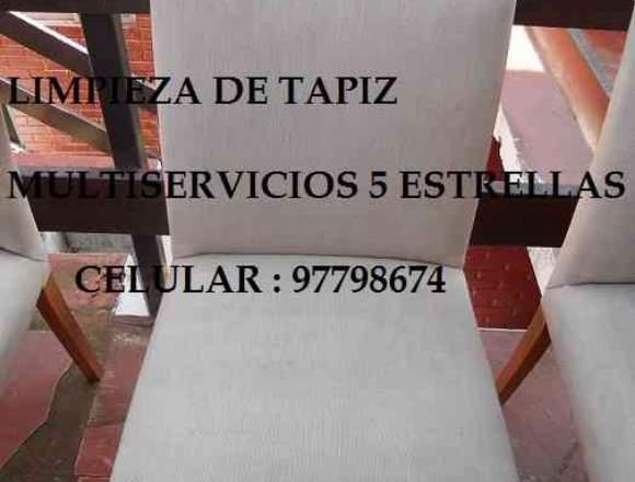 LIMPIEZA TAPIZ 997798674 SILLONES SILLAS AUTOS