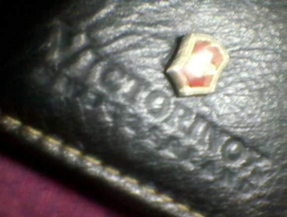 cartera victorinox de cuero