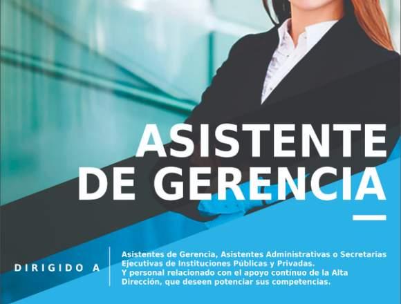 CURSO DE ASISTENTE DE GERENCIA