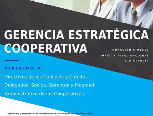 CURSO DE GERENCIA ESTRATÉGICA COOPERATIVA