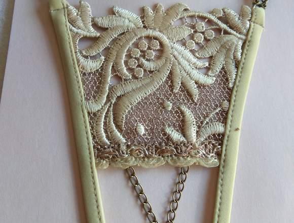 Tangas artesanales, lencería francesa