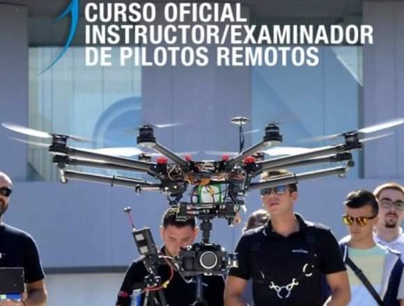 Instructor/Examinador de Pilotos de Drones