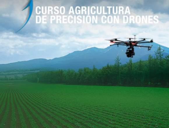Curso Agricultura de Precisión con drones