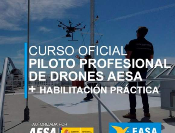 Curso Oficial Piloto Profesional de Drones - AESA