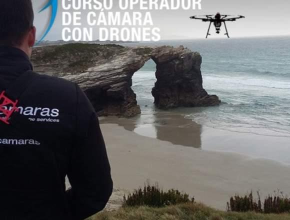 Curso Operador de Cámara drones