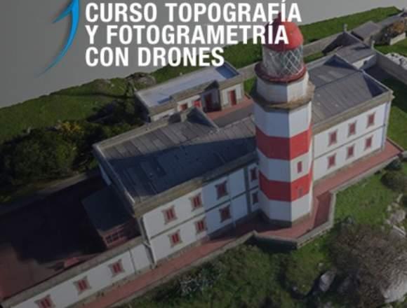 Curso Topografía y Fotogametría con drones