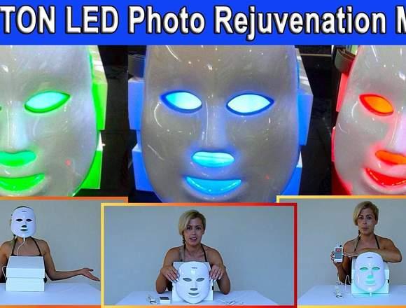 Mascara Facial Foto Terapia