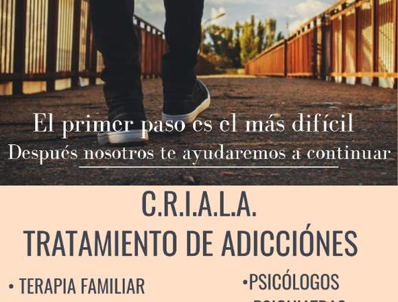 TRATAMIENTO DE ADICCIÓNES C.R.I.A.L.A