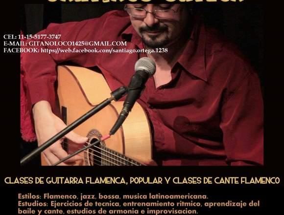 FLAMENCO!! CLASES DE CANTE, GUITARRA Y CAJON!!