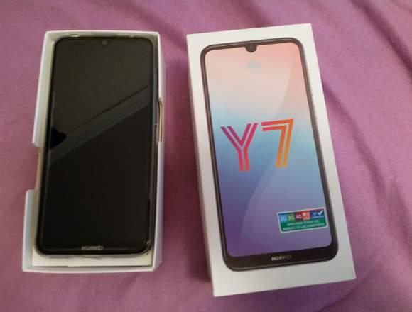 Huawei Y7 2019 sin uso