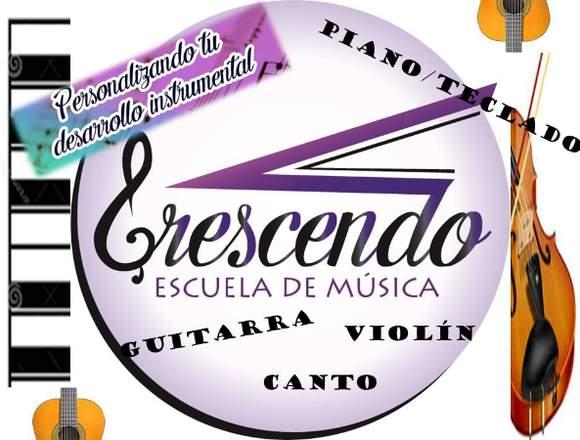 CLASES DE VIOLIN/CANTO/PIANO/GUITARRA