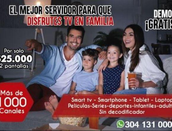Televisión Ip (necesitas Solo Conexión De 3 Megas)