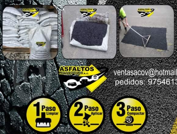 VENTA ASFALTO EN FRIO PARCHE FACIL  WASAP 97461308
