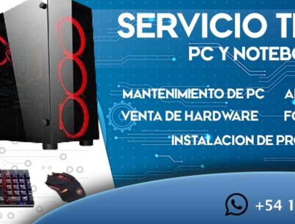 Servicio Técnico GolemX PC - Notebook - Zona oeste