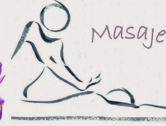 Masaje en camilla integral