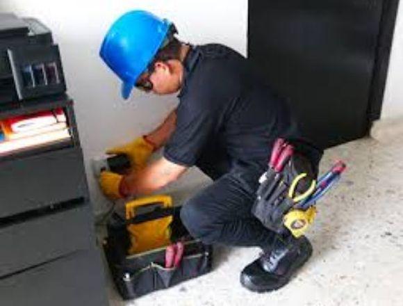 Electricista de la construccion