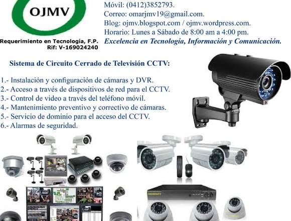 Instalación de CCTV (Cámaras y DVR).