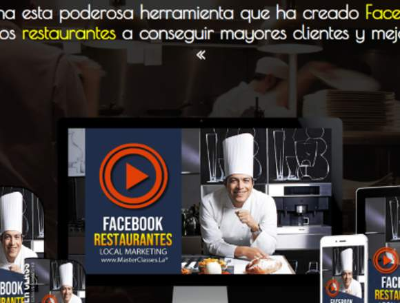 Facebook para Restaurantes. Marketing Digital