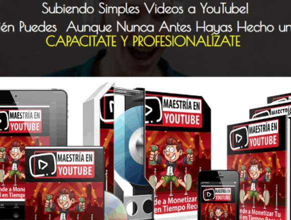 Maestría en Youtube. Marketing Digital