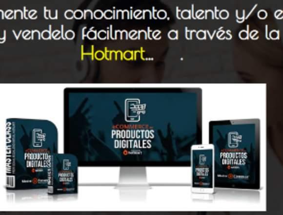 Productos Digitales e-commerce. Marketing Digital