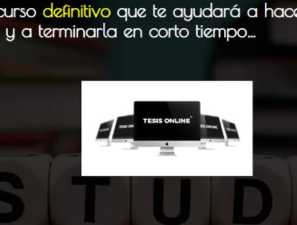 Tesis Online........