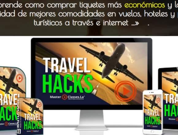 Travel Hacks. Aeorlineas. Marketing Digital