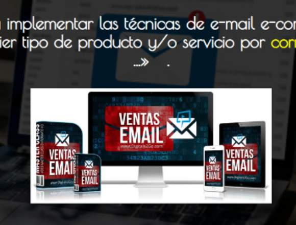 Ventas por email. Marketing Digital