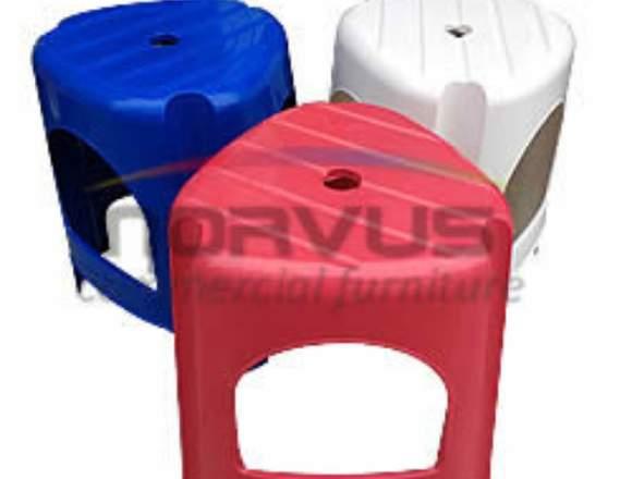 Mesas y bancos de plastico para fondas en venta