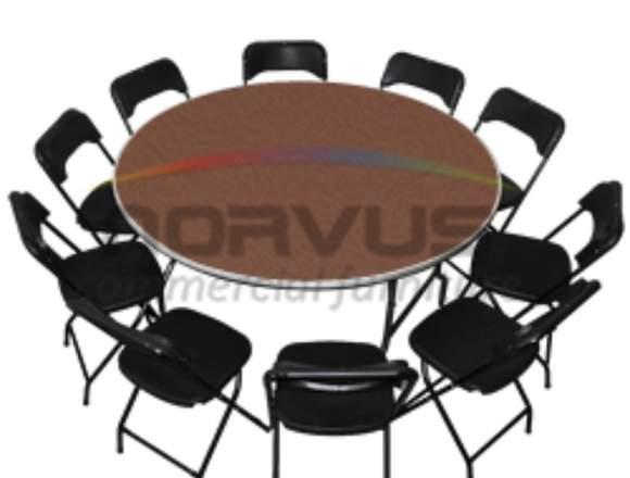 Venta de mesas y sillas economicas para alquiler