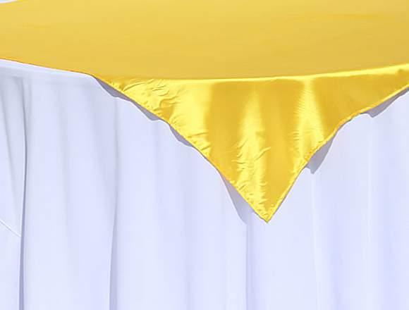 Cubremanteles para bodas de oro en venta