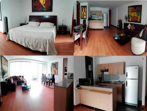 Alquiler Apartamentos Amoblados Código 3277