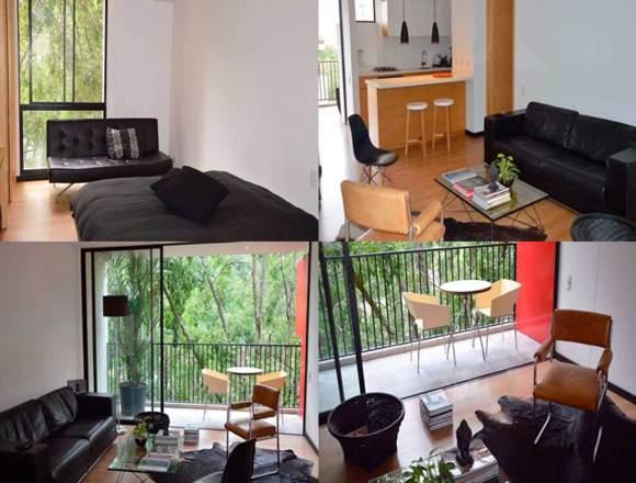Alquiler Apartamentos Amoblados Código 3225