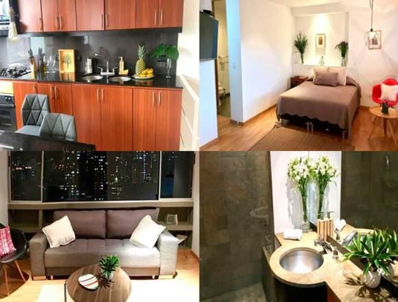 Alquiler Apartamentos Amoblados Código 3199