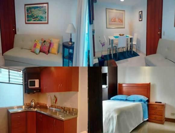 Alquiler Apartamentos Amoblados Código 3346