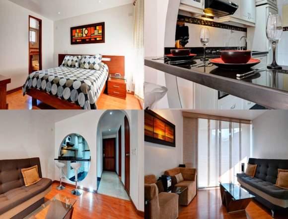 Alquiler Apartamentos Amoblados  Código 3175