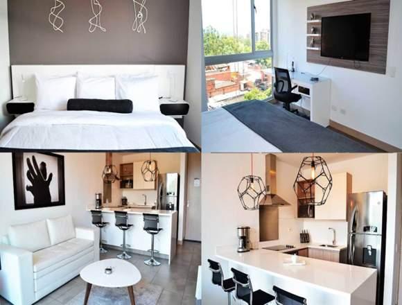 Alquiler Apartamentos Amoblados  Código 3251