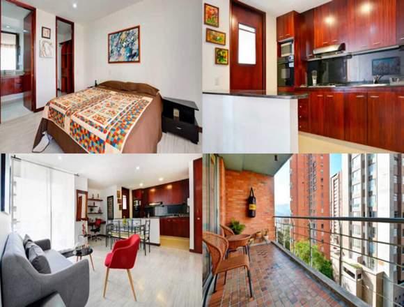 Alquiler Apartamentos Amoblados Medellín Cód.3032